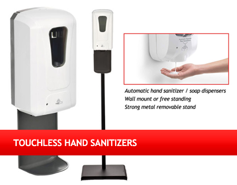 Touchless Hand Sanitizers